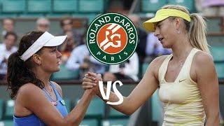 Sharapova vs Radwanska | 2011 Highlights