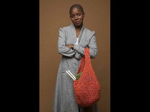 #Crochet market bag - Video 1 (Lion Brand Pattern)