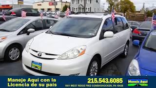 2010 Toyota Sienna, 100% Política de Revisión de la Aplicación