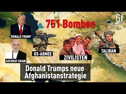Donald Trumps neue Afghanistanstrategie: 751 Bomben im September  ᴴᴰ┇Generation Islam
