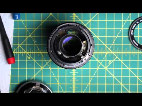 Canon FD SC 135mm f3.5 Lens Disassembly