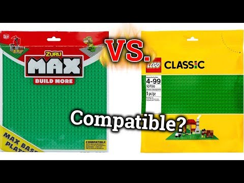 Max Baseplate Review | Are Max Baseplates Compatible With LEGO?
