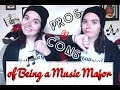 Pros and Cons of Being a Music Major