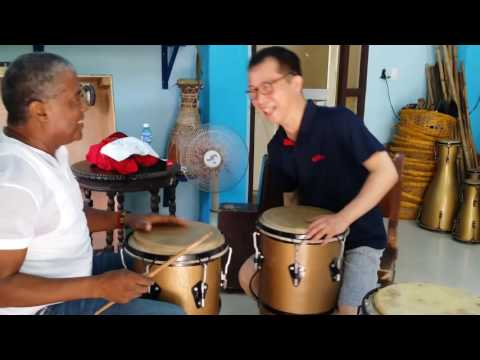 Learn the Cuban percussion 2