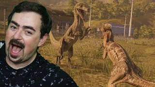Baixar VELOCIRAPTOR VS DILOPHOSAURUS !! : Jurassic World Evolution ITA [Deluxe] #6