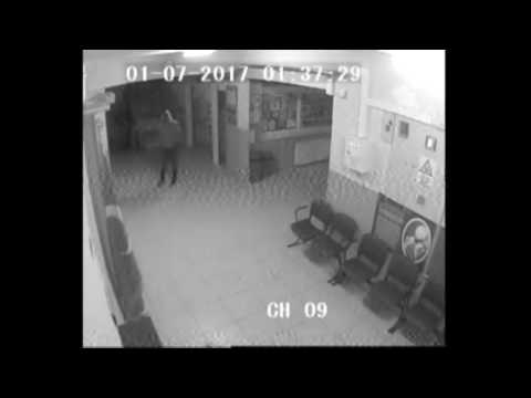 alaplida maskeli hirsiz okullara böyle girdi