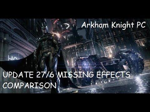 Post patch PC vs PS4 version :: Batman: Arkham Knight