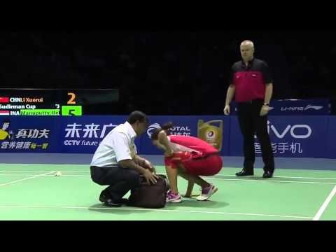 Li Xuerui vs Bellaetrix Manuputty | Badminton 2015 New