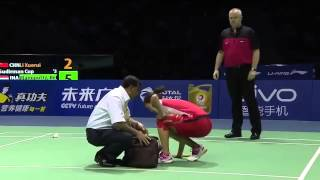 Li Xuerui vs Bellaetrix Manuputty | Badminton 2015 New