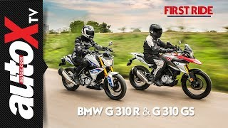 BMW G 310 R and G 310 GS Review: First Ride | autoX