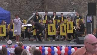 L Band, Muzejní noc, nádvoří Strakonického hradu, 26.5.2018