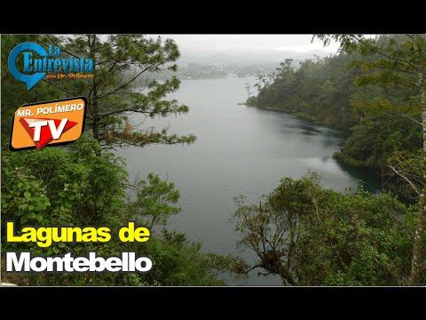 Lagunas de Montebello en Chiapas