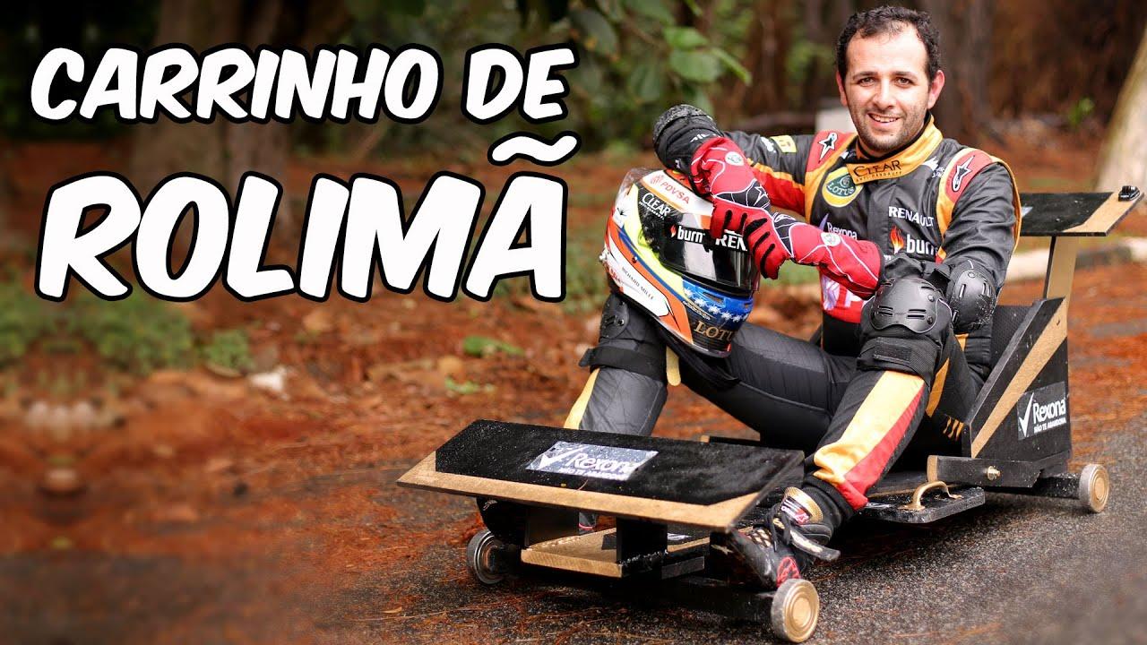 Well-known Como fazer um carrinho de rolimã de corrida - YouTube CX58