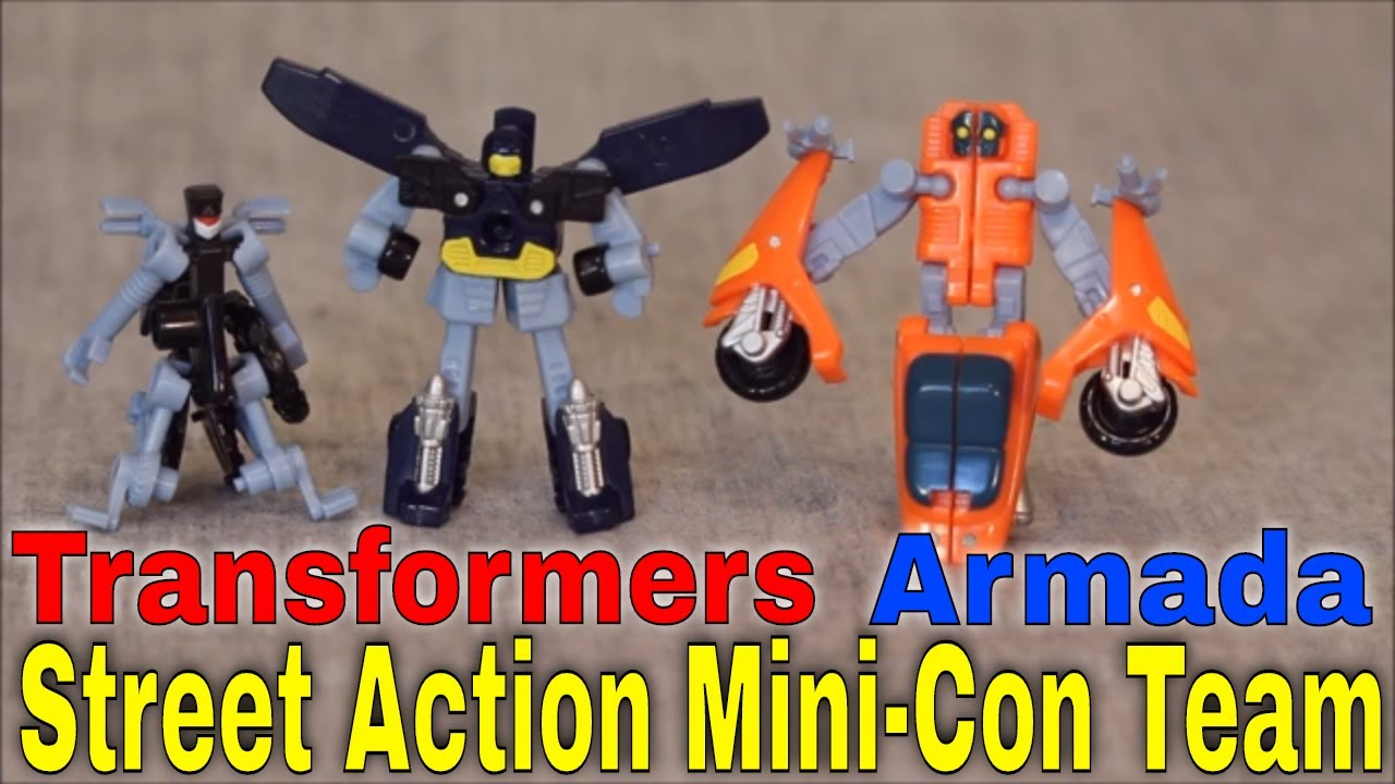 Perceptor, you say?: Transformers Armada Street Action Mini-Con Team By GotBot