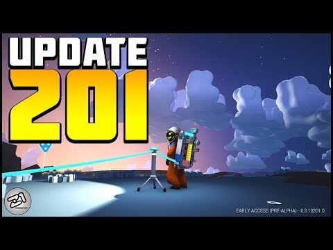 Astroneer Update 201 ! Tethers, Controls and a NEW TOOL !! Lets Play Astroneer Gameplay Z1 Gaming