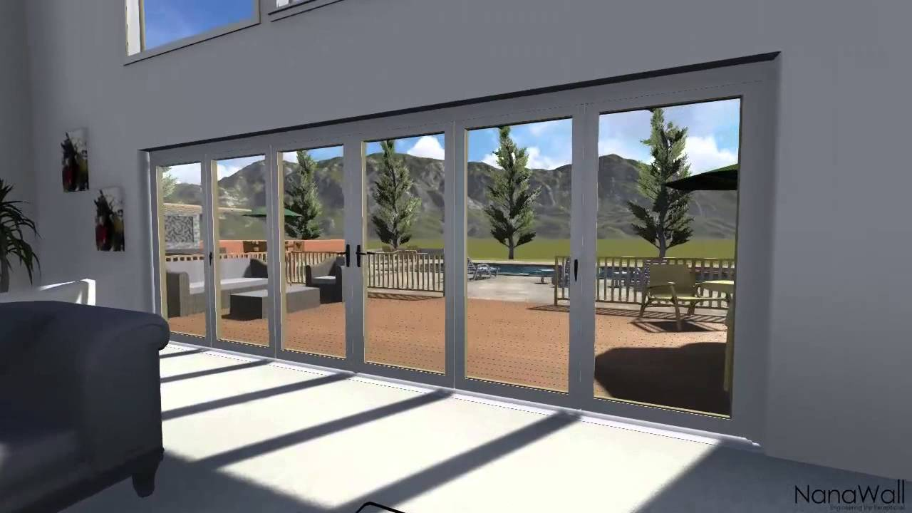 & Sketchup House with Nanawall - YouTube Pezcame.Com