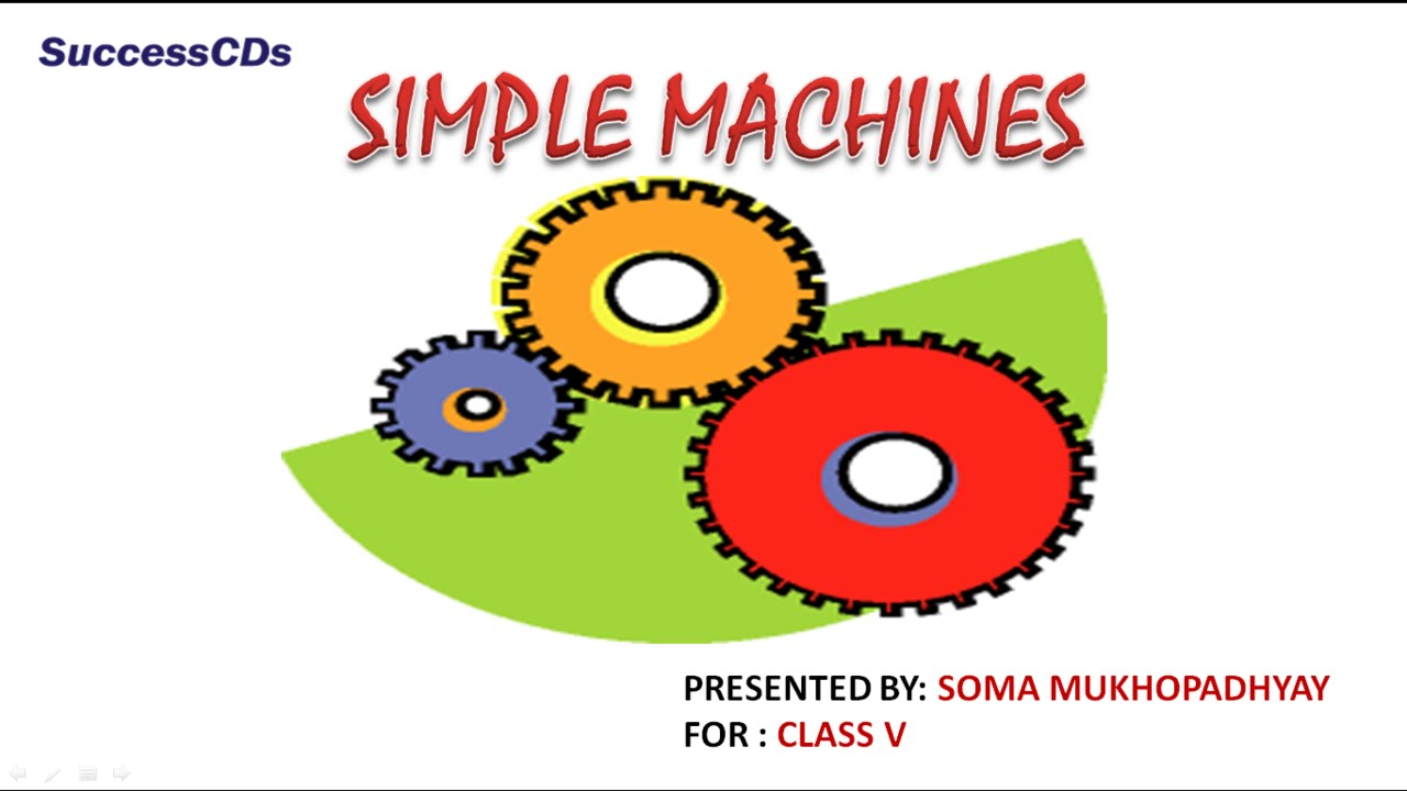 simple machine lessons
