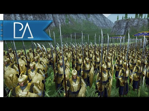 BATTLE OF THE 8 ARMIES: 20K TROOPS - Third Age Total War Reforged Mod Gameplay