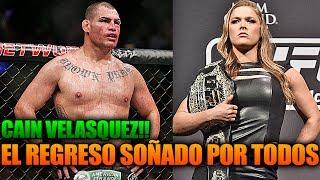 El regreso glorioso Caín Velásquez para UFC 216, Cyborg de Ronda Rousey   UFC En Español