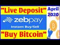 How to Buy Bitcoin from Zebpay - Buy in 2 Min