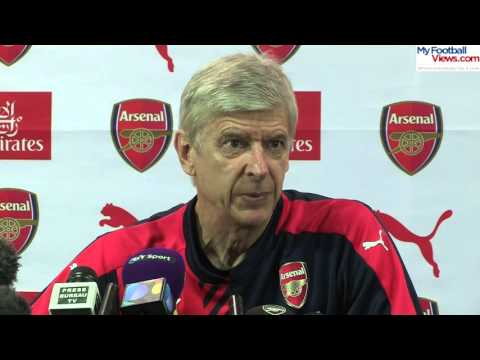 Arsene Wenger threatens to stop press conference