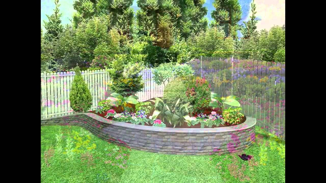 Flower bed ideas flower bed ideas for front of house youtube for Flower bed in front of house