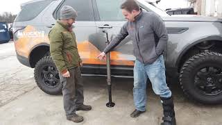We take a look and use the new ARB hydraulic Jack.