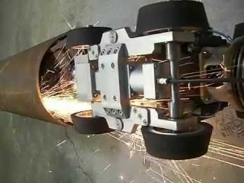 Grinding Robot For Internal Pipe Application On Surfaces