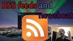 Uh, What are RSS feeds? NEWSBOAT