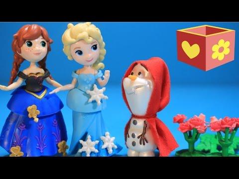 Disney Frozen Elsa and princess Anna Playset   Little Red Riding Hood