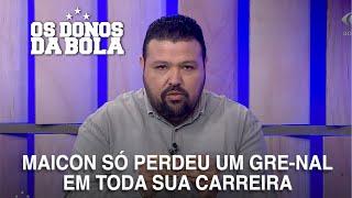 """Bagé comenta supremacia de Maicon em Gre-Nais: """"ele joga futsal na grama"""""""