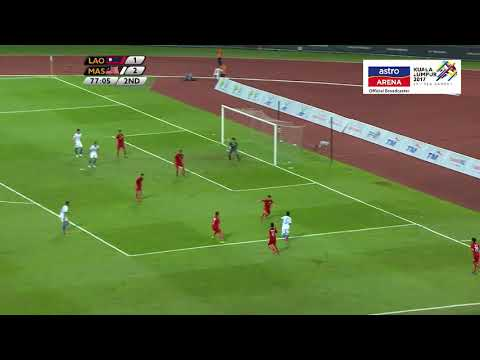 MAS 3-1 LAO | Bolasepak | Kumpulan A | KL 2017 | Astro Arena