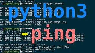 python3-ping, 16+ years of ping implementation in Python