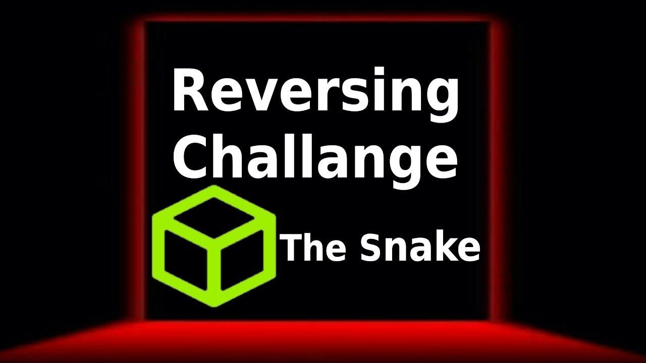 Hack the box!! Reversing Challange(The snake)
