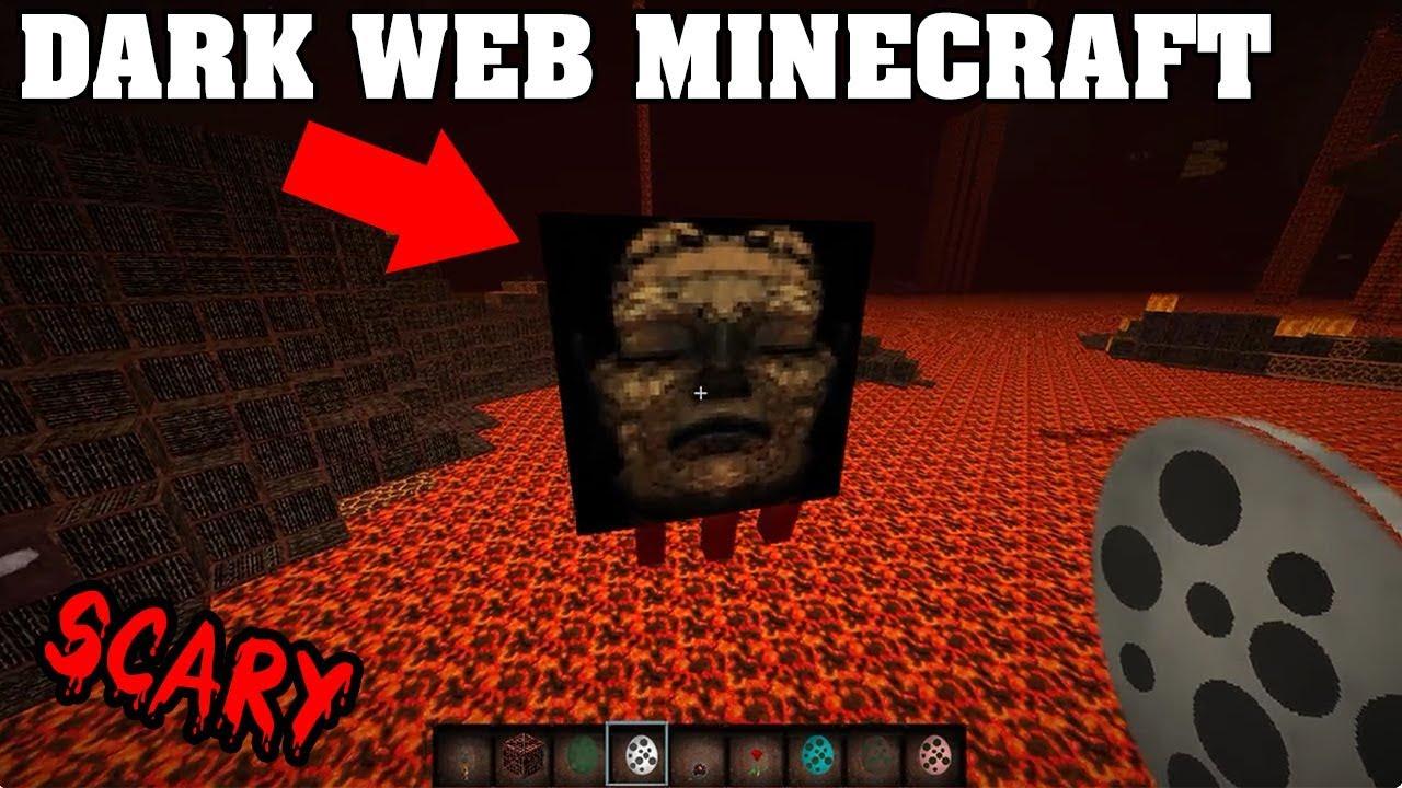 I found a CREEPY Minecraft Version on the DARK WEB (Scary Minecraft Video)