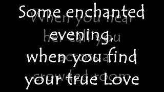 The Temptations - Some Enchanted Evening lyrics