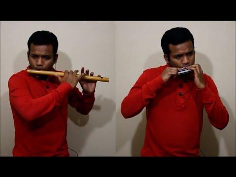 Tujhe Dekha To Ye Jaana Sanam (DDLJ)-Flute-Harmonica