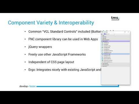 TMS Software   WEB components & developer tools for Delphi