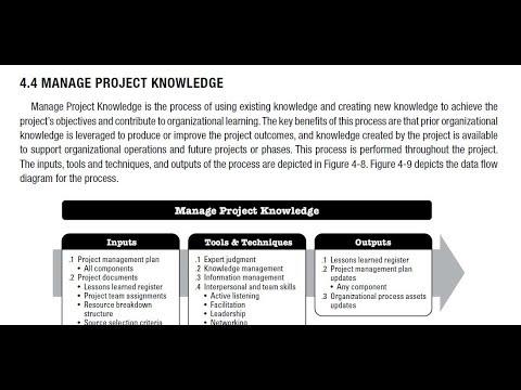 (4). Project Integration Management-PMBOK Guide 6th Edition (Arabic)- Part 2