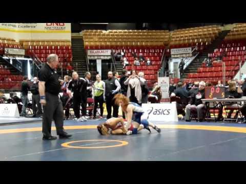 2016 Canadian Senior Championships: 53 kg Miyu Yamamoto vs. Samantha Stewart