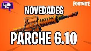 NEW PARK 6.10 : ENTERER, BETA STORMS, REY RATA FORTNITE SAVE THE WORLD Spanish