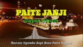 BIKIN BAPER PAITE JANJI - GUYON WATON By ( BhaBheNe Dhiyan )