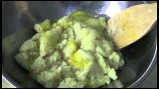 Grean Tea Cream Puff Tutorial (no Raw Eggs Used For Cream Alternative)