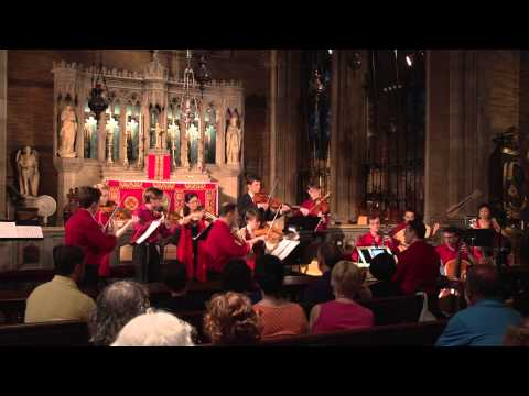 Corelli's Concerto grosso op. 6 no. 1, performed by New York Baroque Incorporated