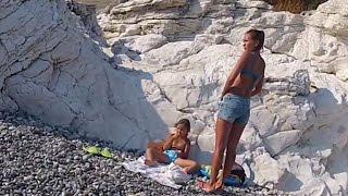 Смотреть видео белые скалы фото абхазия