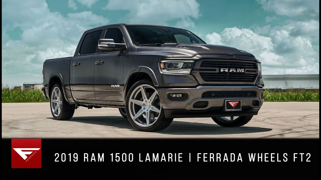 2019 Ram 1500 Lamarie Ferrada Wheels Ft2 Youtube