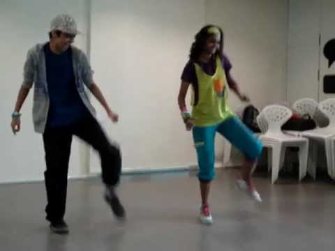 Zumba Dance Steps for Fitness with Swetha Jairam