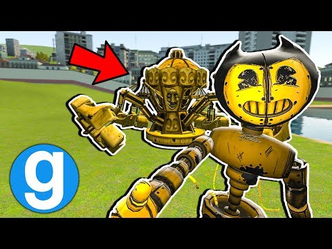 New Bertrum, Beast Bendy & More Bendy NPCs! [Garry's Mod Sandbox] Bendy and The Ink Machine! thumbnail