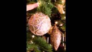 Christmas Tree Decorating Tutorial 2012