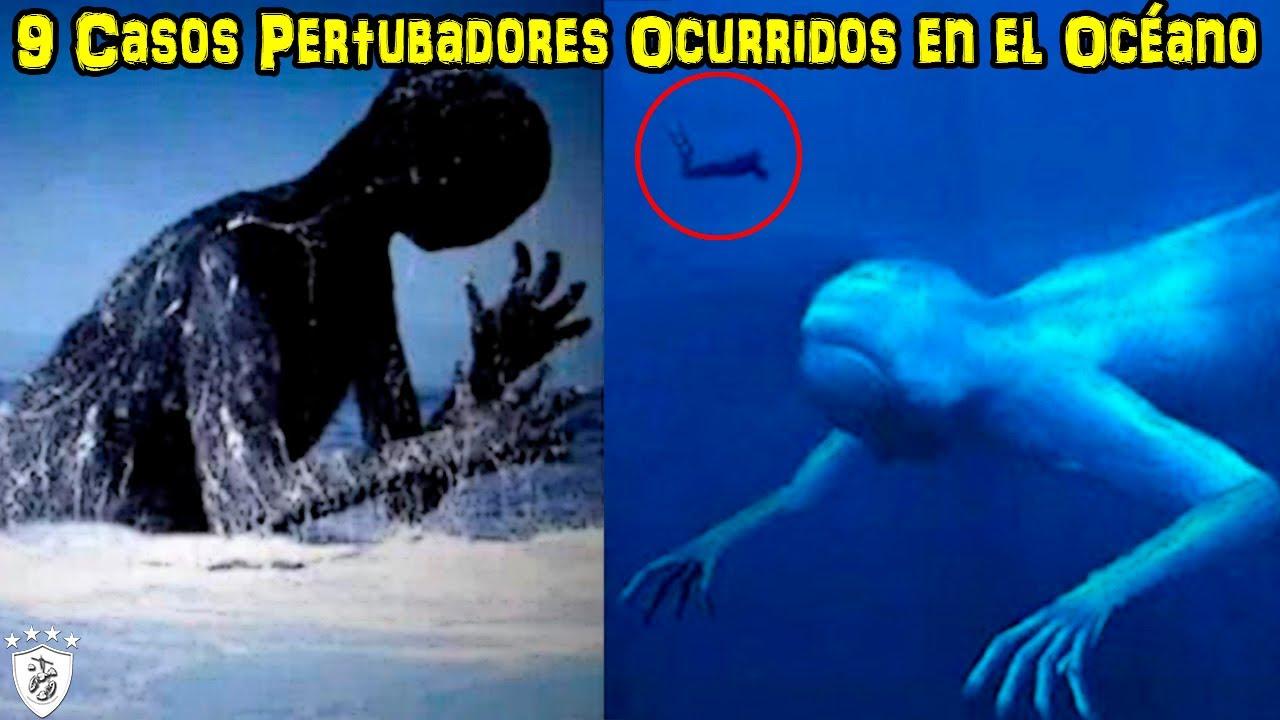 9 Casos Pertubadores Ocurridos en el Océano